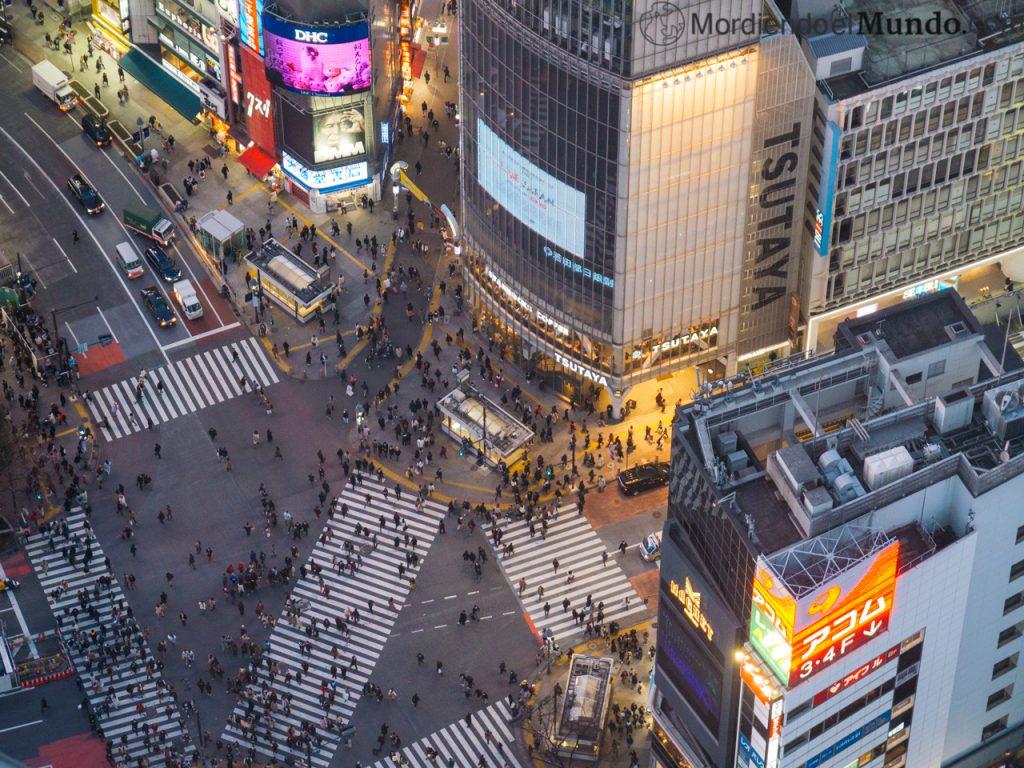 Cruce de peatones de Shibuya