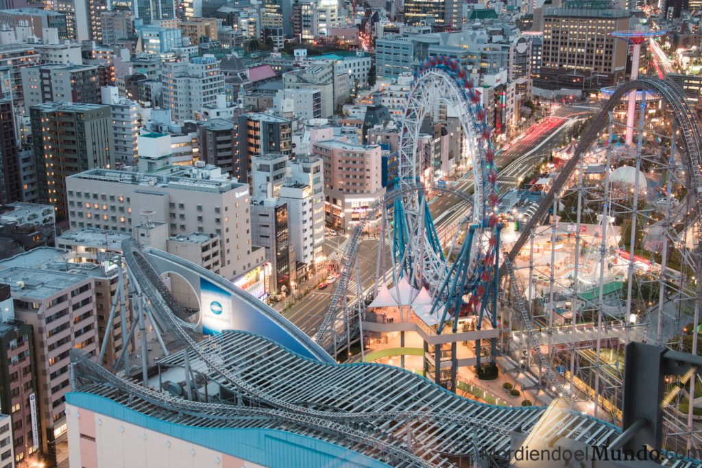 Vistas desde el mirador del Bunkyo Civic Center en Tokyo