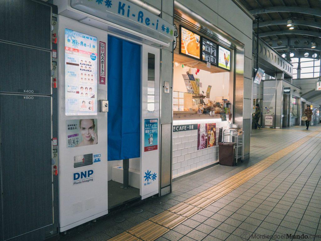 Fotomatón metro de Osaka