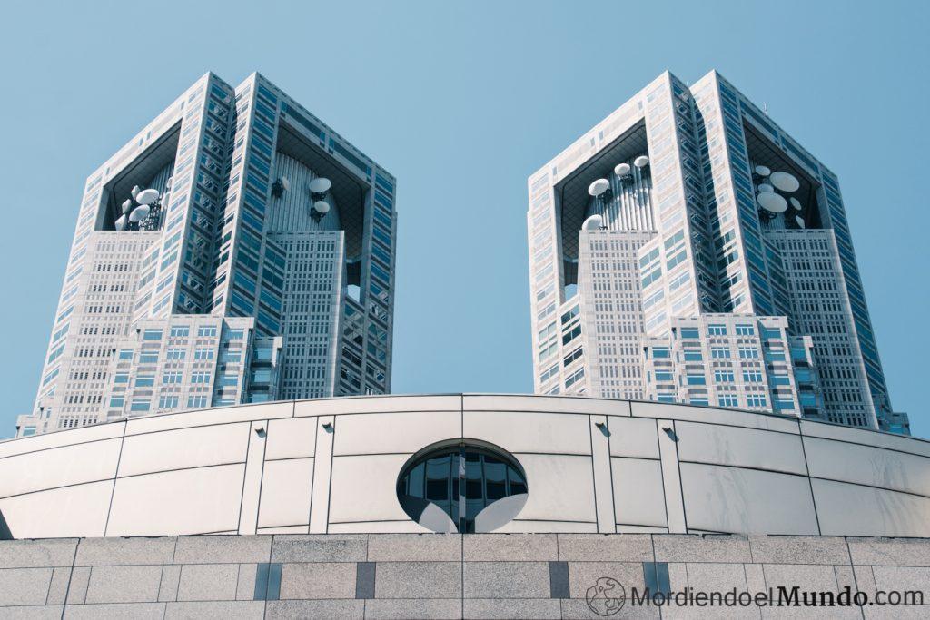 Edificio metropolitano en Tokio