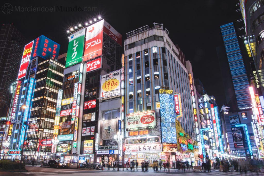 Godzilla en Shinjuku, Tokyo