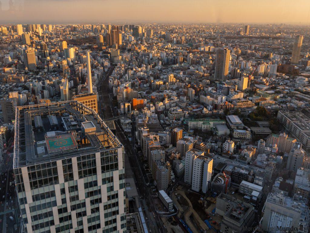 Panoramica de Shibuya desde las alturas del Shibuya Sky