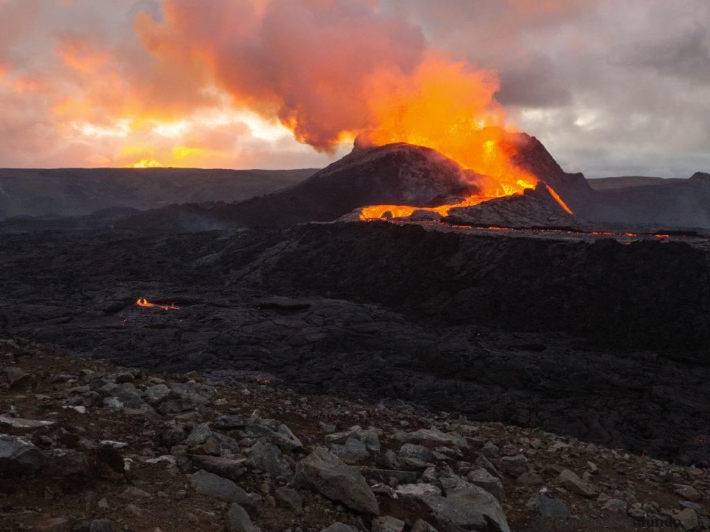 Erupción de un nuevo volcán en Islandia